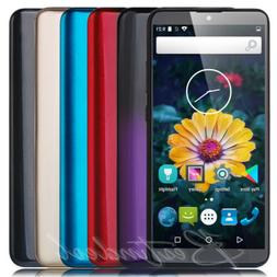 """6"""" Touch Cheap Android 8.1 Cell Phones Unlocked GSM 3G AT&T"""