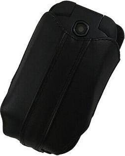 Black Pouch Case with Belt Clip for Kyocera DuraXV LTE DuraX