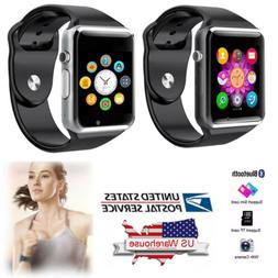 Bluetooth Smart Watch GSM Unlocked Watch Cell Phone for Andr