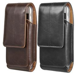 for iPhone X 8 7 6s Plus Phone Belt Pouch Case Vertical Hols