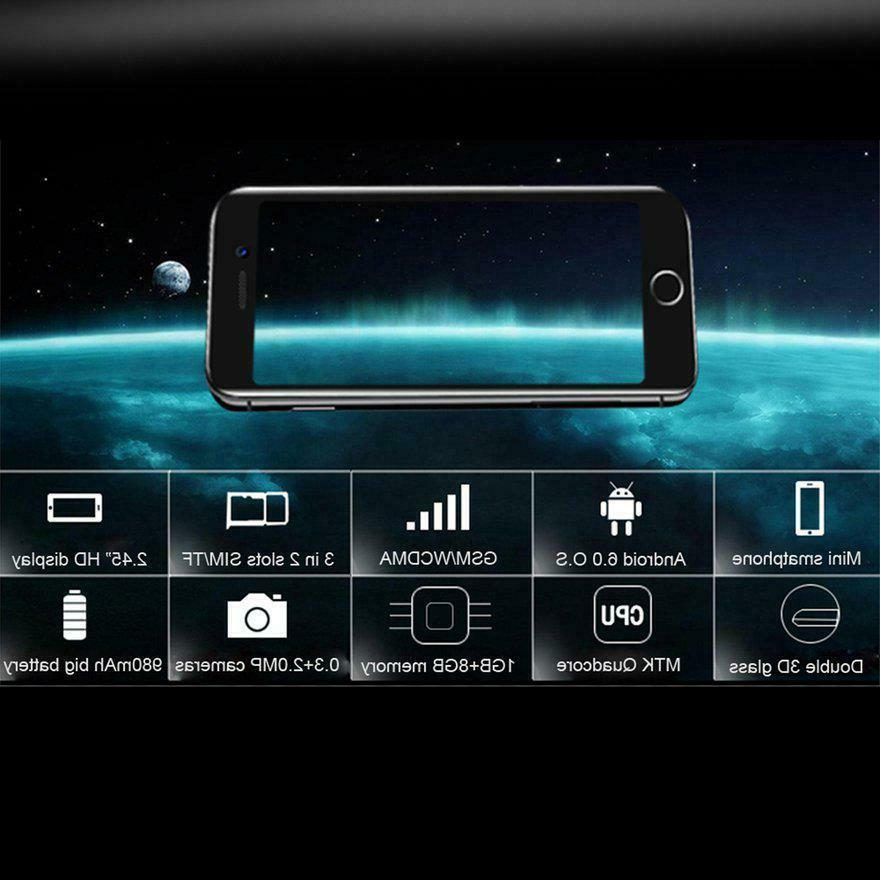 Anica I8 3G Unlocked GSM Android Smartphone Dual memory