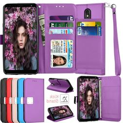 For LG Stylo 4/5/5X/5+/6 Phone Case Wallet Flip Leather Caed