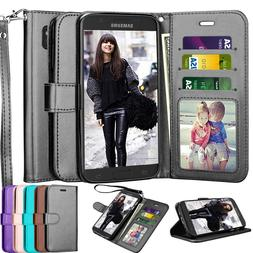 For Samsung Galaxy S7/S9/S10+ Wallet Leather Phone Case Flip